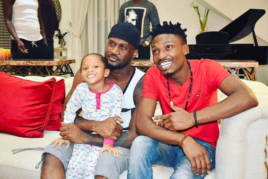 Efe Visited Psquare in their Banana IslandMansion