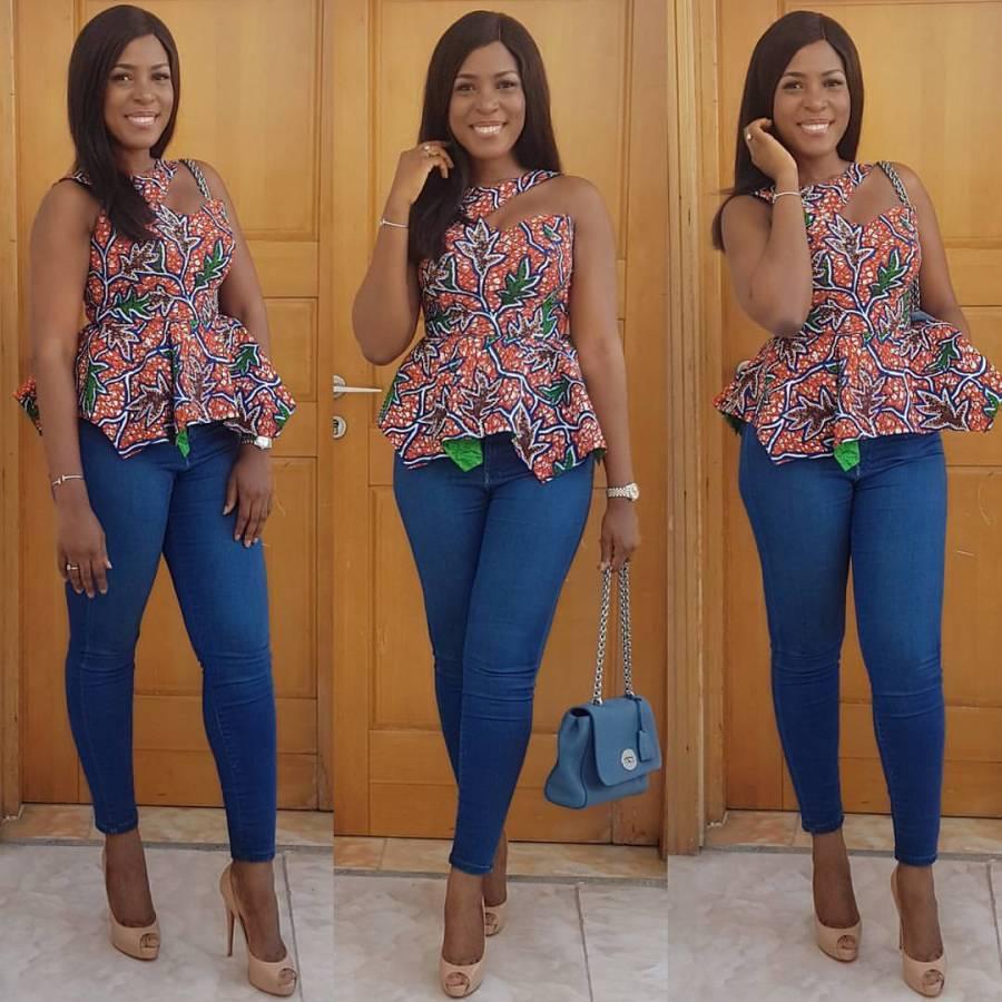 Linda Ikeji steps out instyle