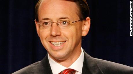 Rod Rosenstein confirmed to be the next US deputy attorneygeneral