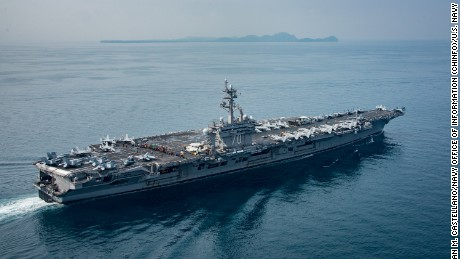 North Korea threatens to sink US aircraftcarrier