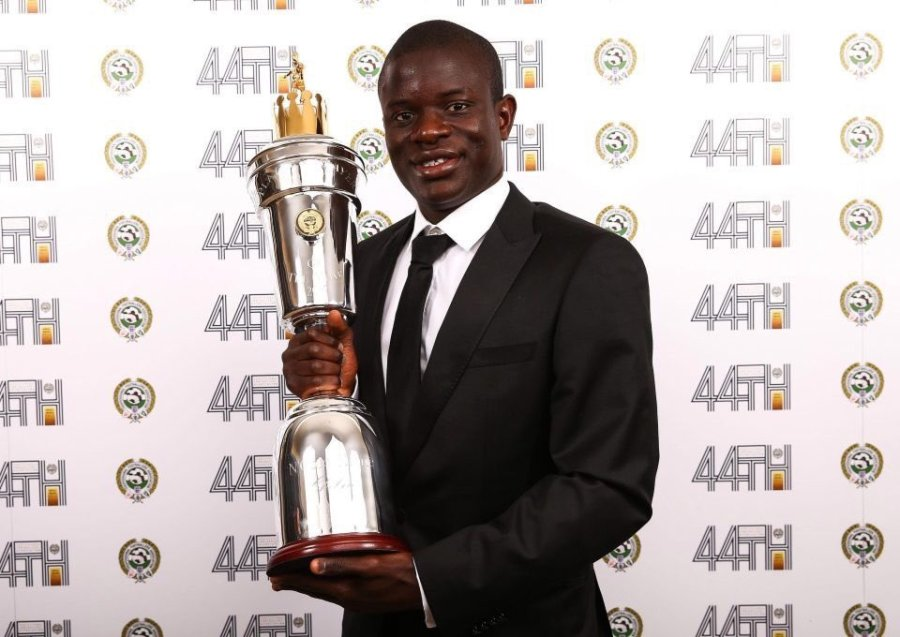 Chelsea's N'Golo Kante has been named PFA player of the year2017