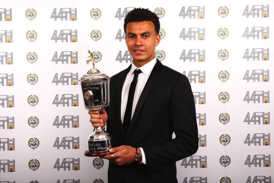 Deli Alli named PFA Young player of the Year for the second Row in aYear
