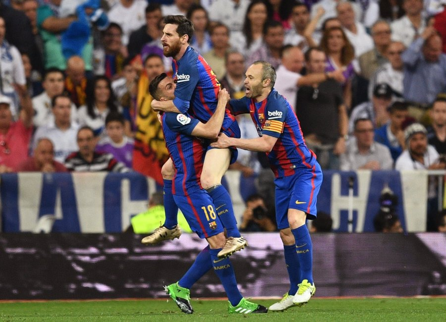 Barcelona first team to beat Real Madrid at the SantiagoBernabeu
