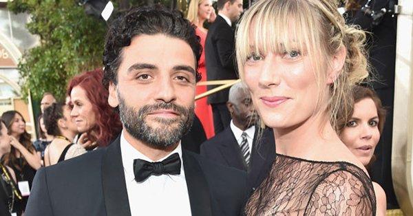 Oscar Isaac and Elvira Lind, welcomes their firstchild