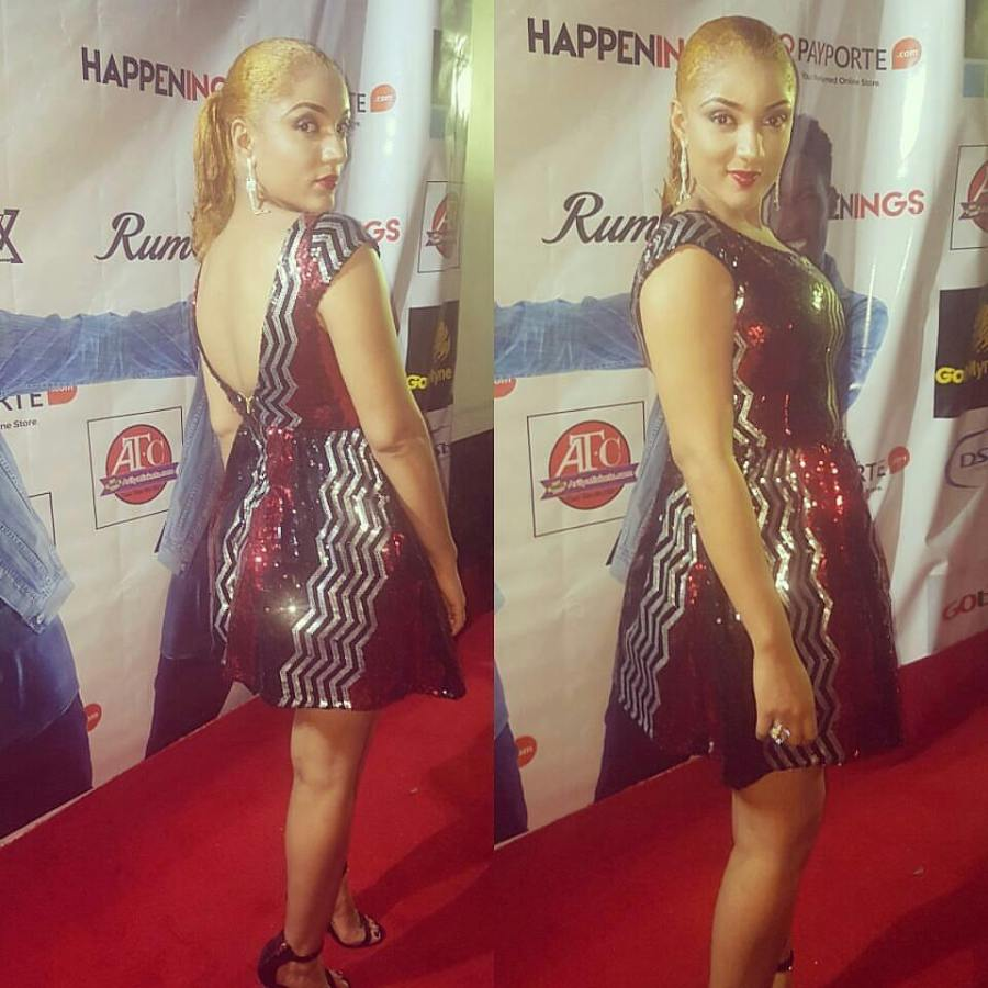 Gifty Powers at Soma's birthdayparty