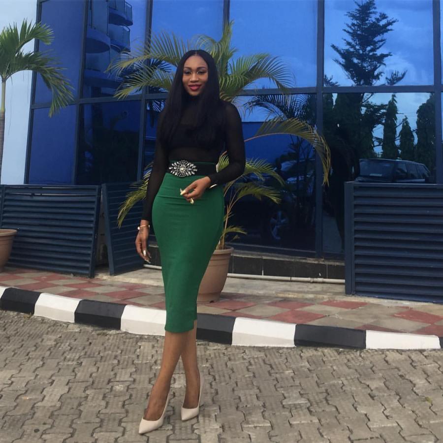 Ebube Nwagbo looks stunning in newphotos