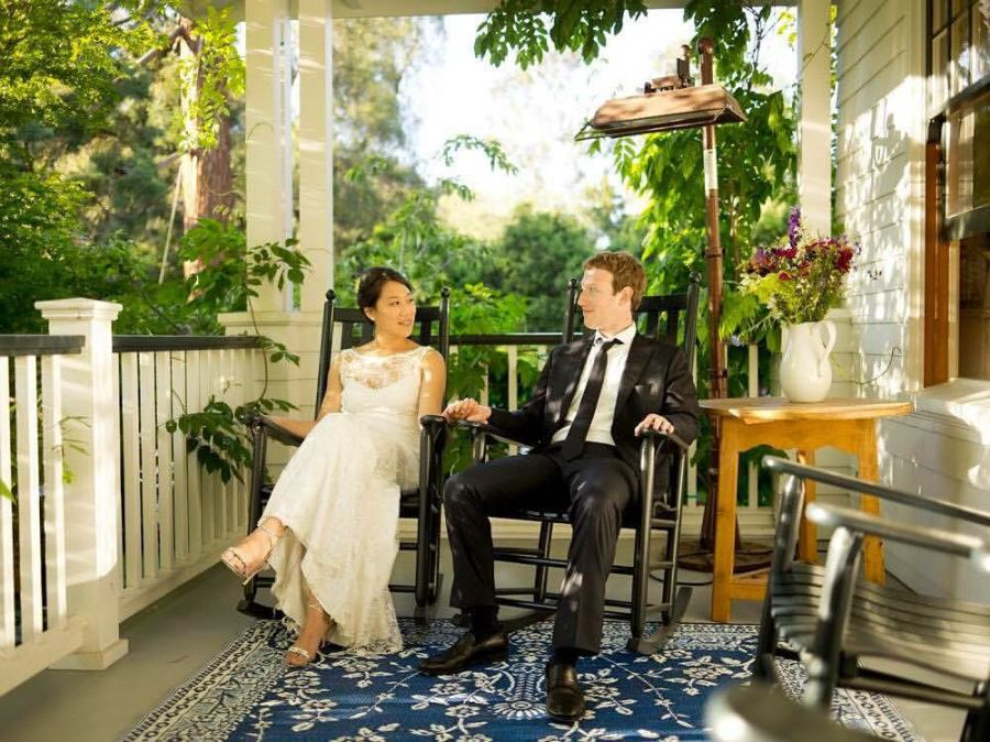 Mark Zuckerberg celebrates wedding anniversary with wife