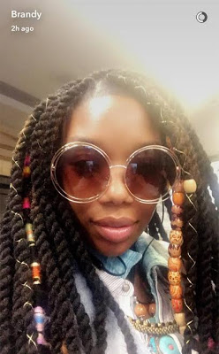 Brandy loses consciousness on plane