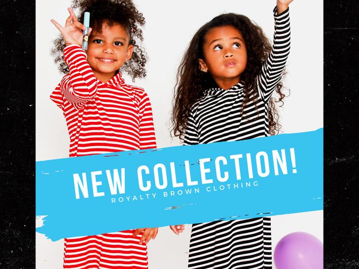 Chris Brown's daughter Royalty launching Kids Clothingline
