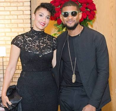 Usher's wife standing by him, not concerned about STDlawsuit