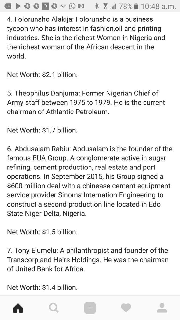 Forbes 2017: Top 10 richest men in Nigeria – Susanorjisblog