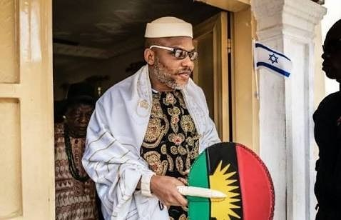 If I'm re-arrested, this country will burn -NnamdiKanu