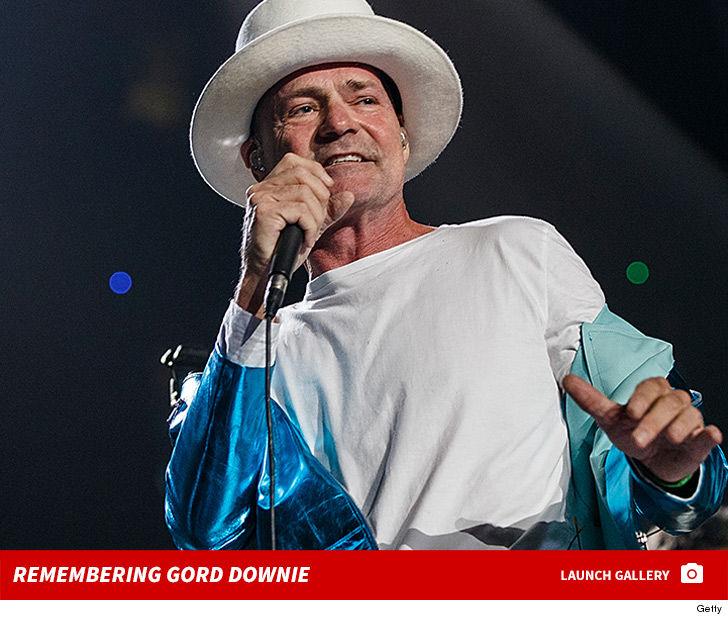 Tragically Hip singer Gord Downie dead at 53 from braincancer