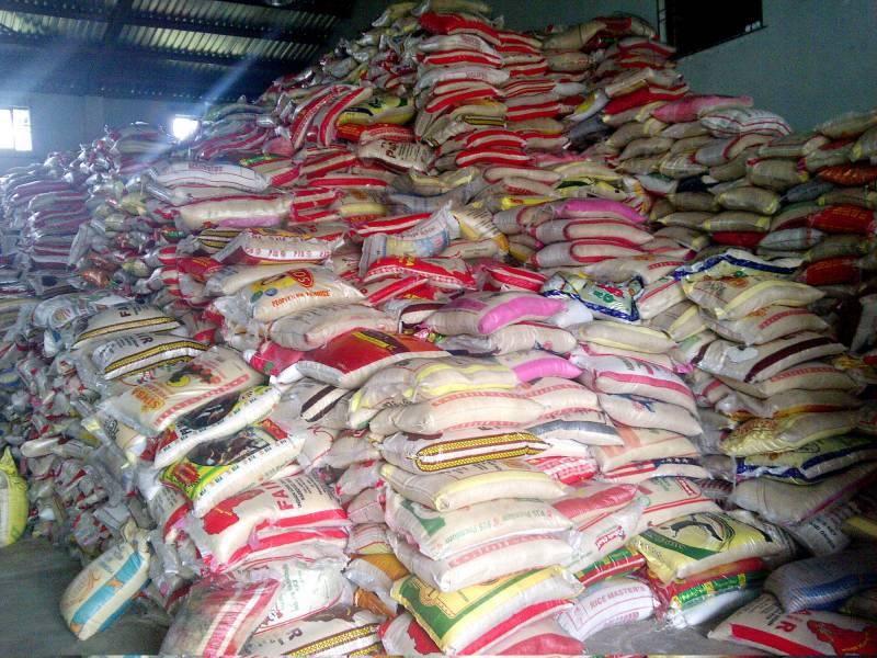 Customs siezes smuggled rice worth  $64,000 inPortharcourt