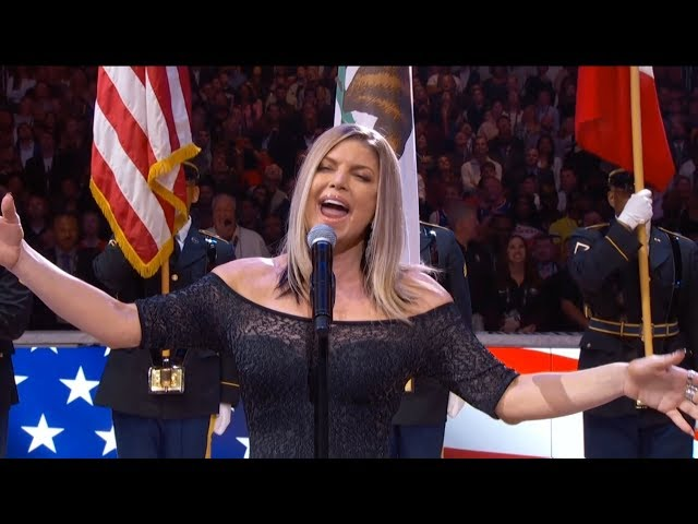 Fergie apologizes for NBA All-Star game NationalAnthem
