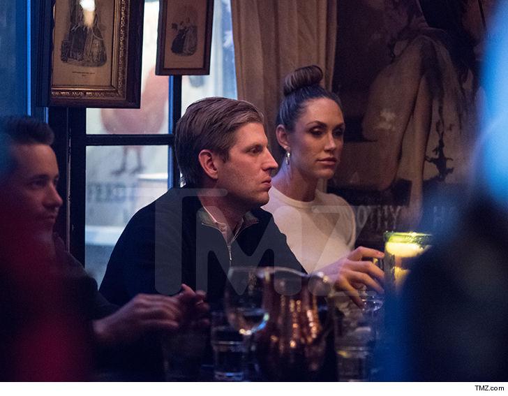 Eric and Lara Trump on Aspenvacation