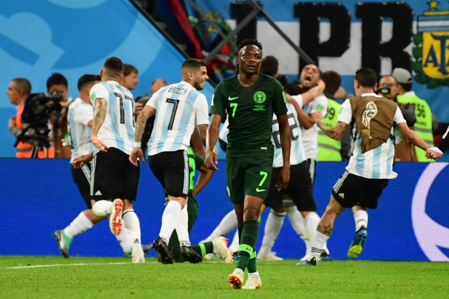 World cup 2018: Arsenal speaks on Nigeria's 2-1 loss toArgentina