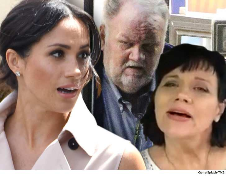 Meghan Markle's sister says if their father dies, its Meghan's fault
