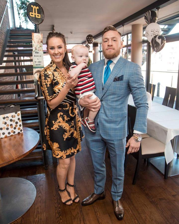 Conor McGregor's GF Dee Devlin reveals they are expecting baby no 2