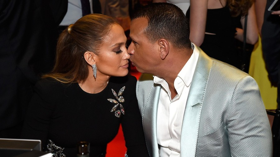 Jennifer Lopez gives Alex Rodriguez the absolute sweetest