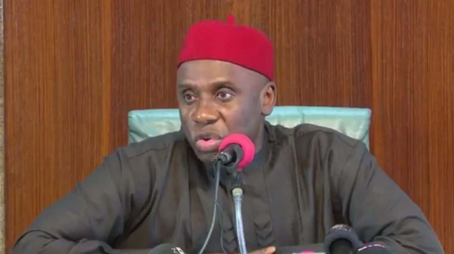 What Amaechi discussed with UNdelegation