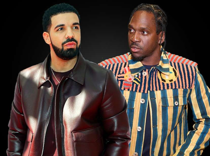 Pusha T denies finding out about Drake's son through KanyeWest
