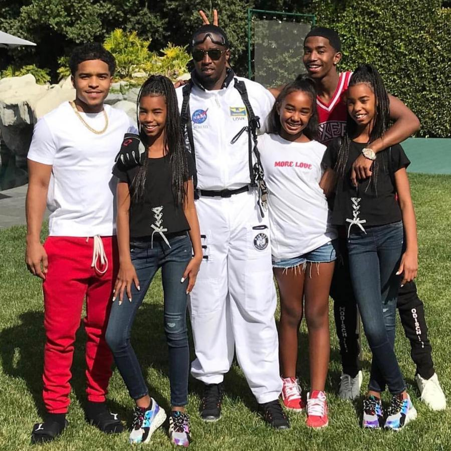 Inside Diddy's relationship with the children he shared with 'KimPorter'