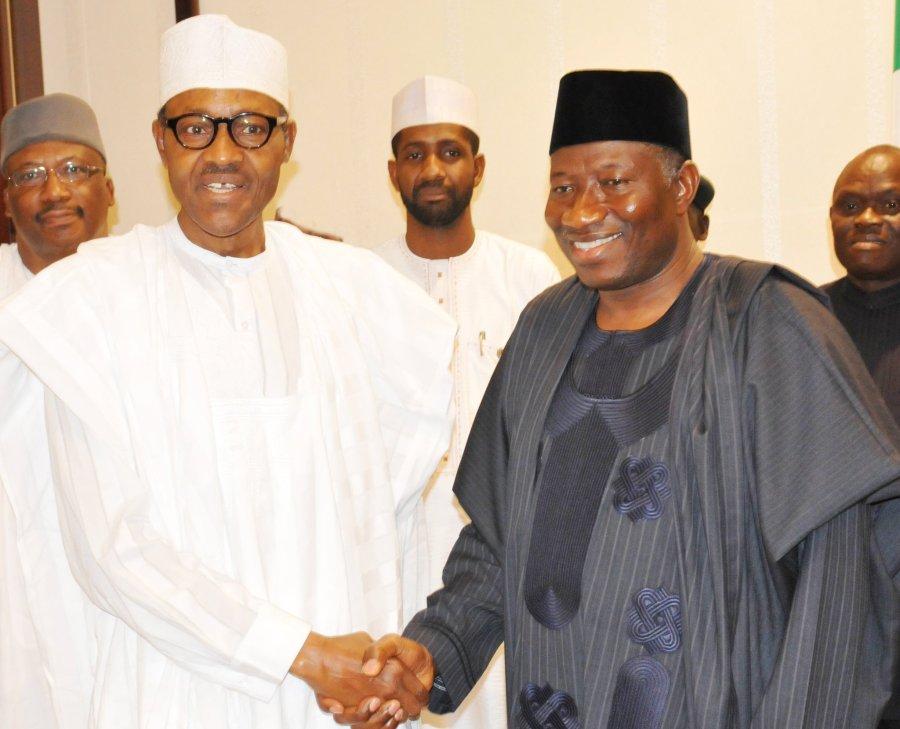Your life an inspiration to Nigerians- Buhari tellsJonathan