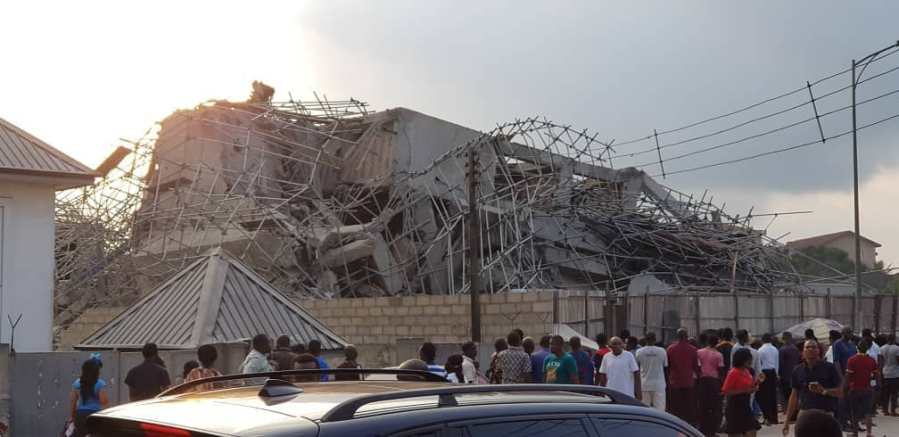 4 dead, 36 rescued from collapsed building inPort-Harcourt