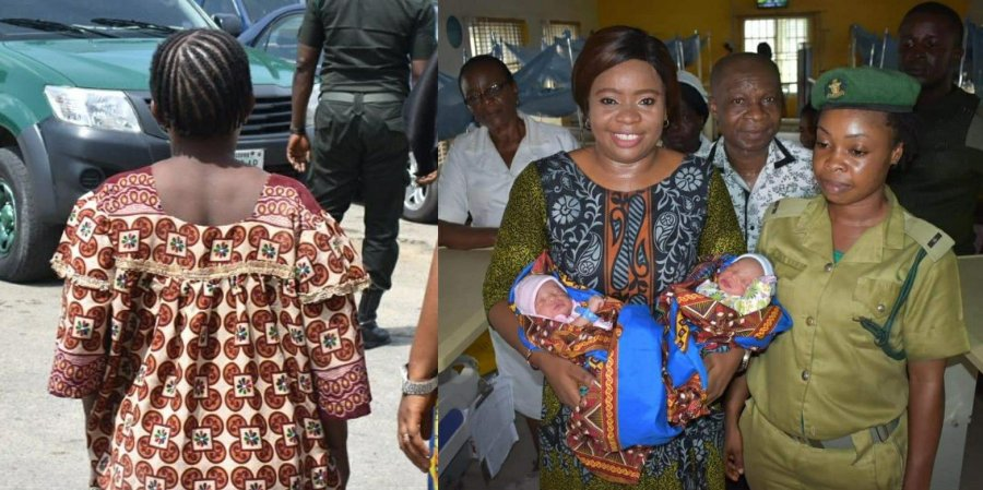 Calabar prison inmate who delivered twins last week is dead