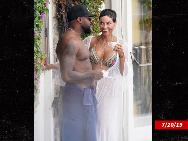 Nicole Murphy apologizes for kissing Antoine Fuqua