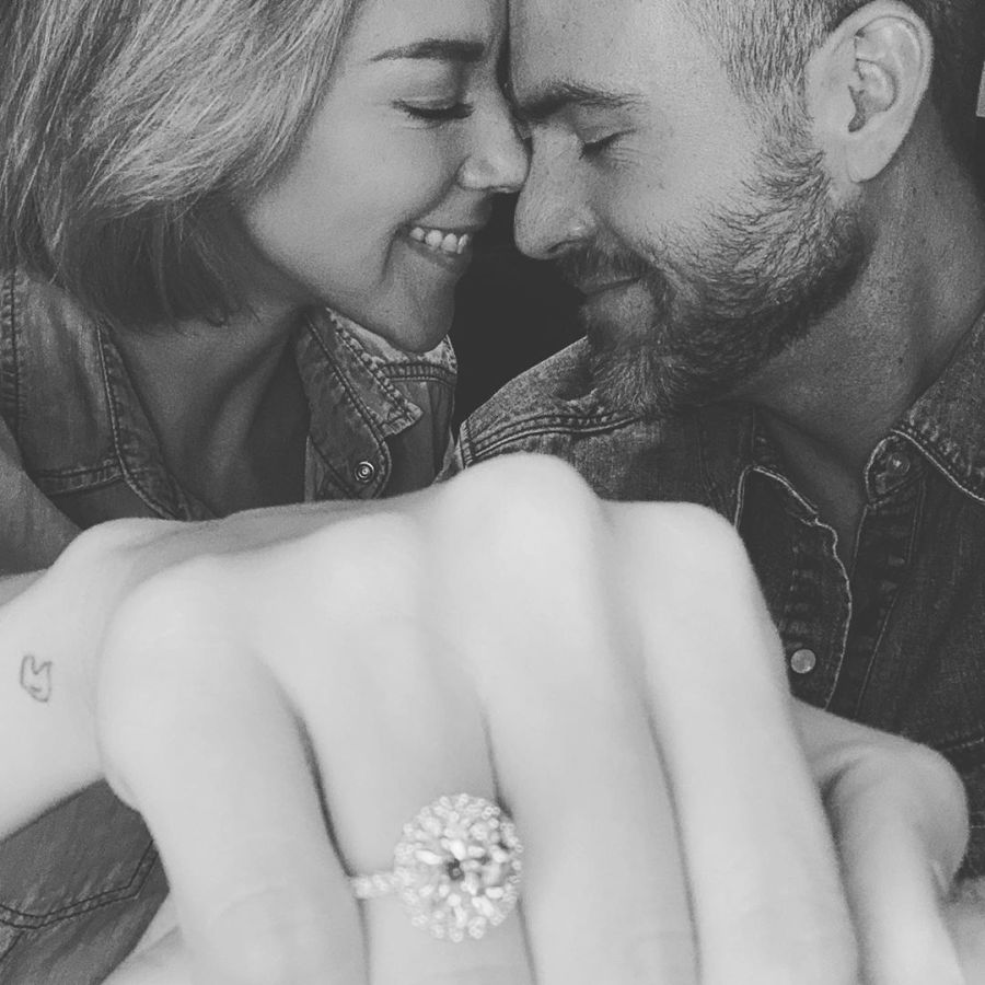 Wedding bells: Fernanda Castillo and Erik Hayser are engaged (pictures)